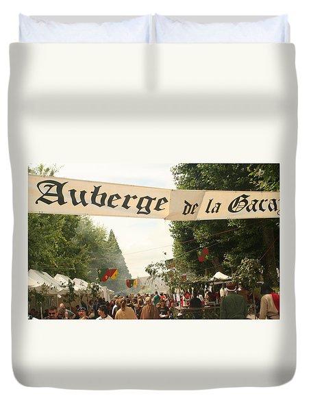 Fete Des Remparts Duvet Cover
