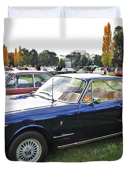 Fiat 2300s Coupe Duvet Cover