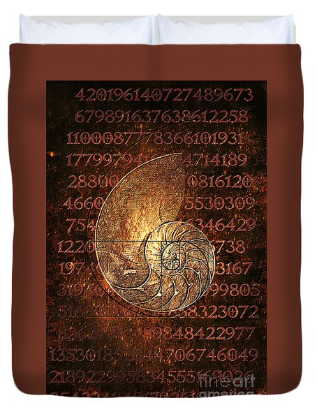Fibonacci Duvet Cover
