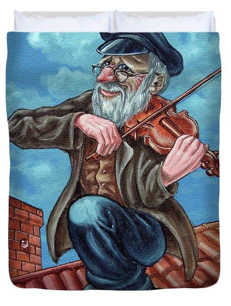Fiddler On The Roof. Op2608 Duvet Cover