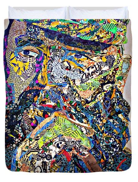 Fidel El Comandante Complejo Duvet Cover