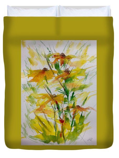 Field Bouquet Duvet Cover