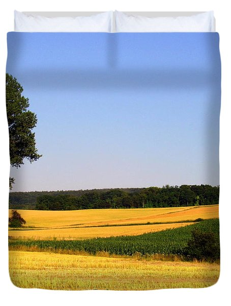 Field Flow Duvet Cover