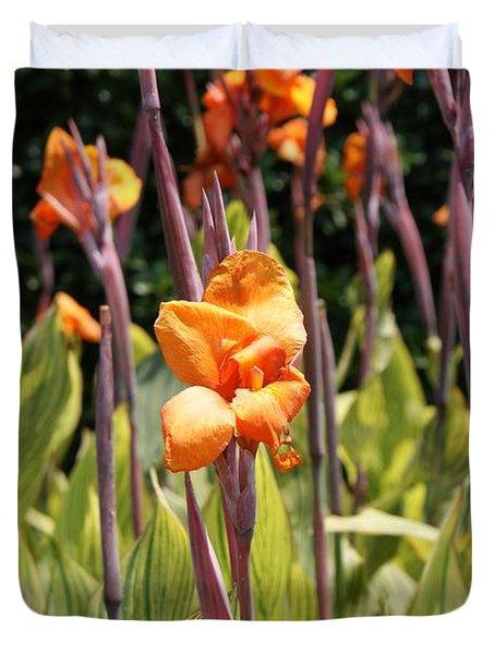 Field For Iris Duvet Cover