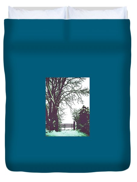 Field Gate Duvet Cover