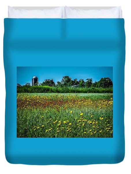Field In June Duvet Cover