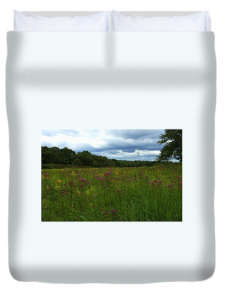 Duvet Cover featuring the photograph Field Of Color by Bruce Carpenter