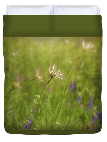 Field Of Flowers Duvet Cover
