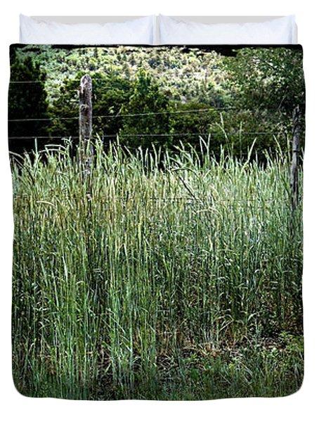 Field Of Grass Duvet Cover