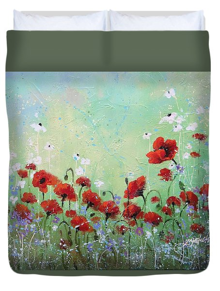 Field Of Imagination Two Duvet Cover