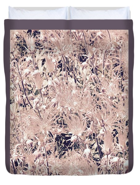 Field Of Smoke Duvet Cover by Tim Good