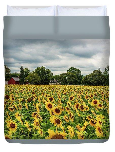 Field Of Sunshine Duvet Cover