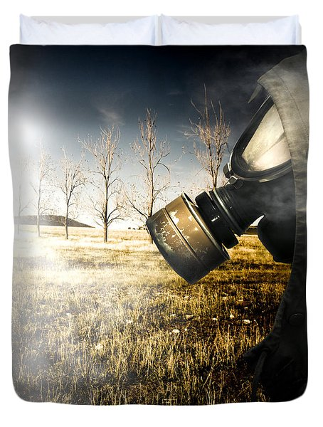 Field Of Terror Duvet Cover
