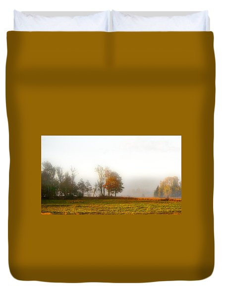 Field Of The Morn Duvet Cover