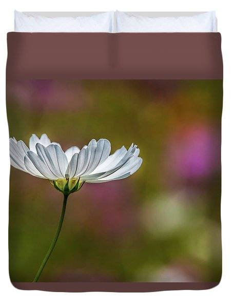 Field Of Wildflowers Duvet Cover