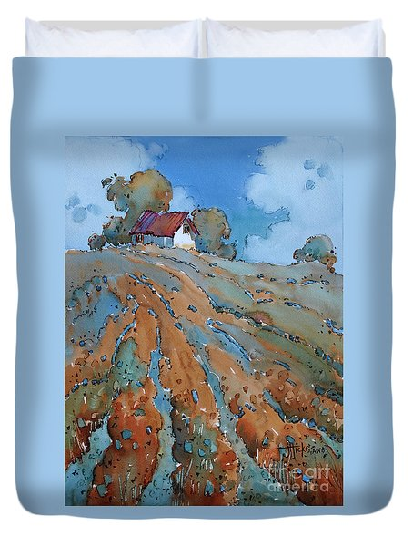 Field Play Duvet Cover