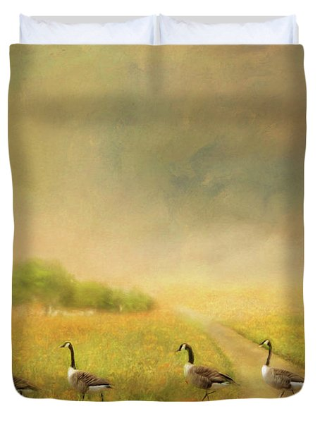Field Trip Duvet Cover by Wallaroo Images