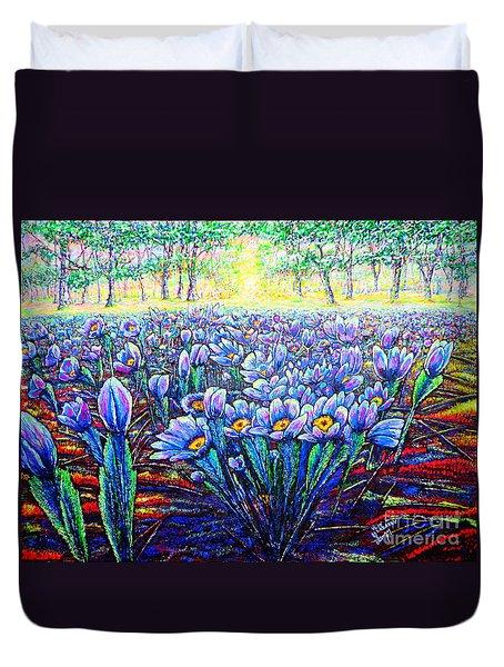Field.flowers Duvet Cover