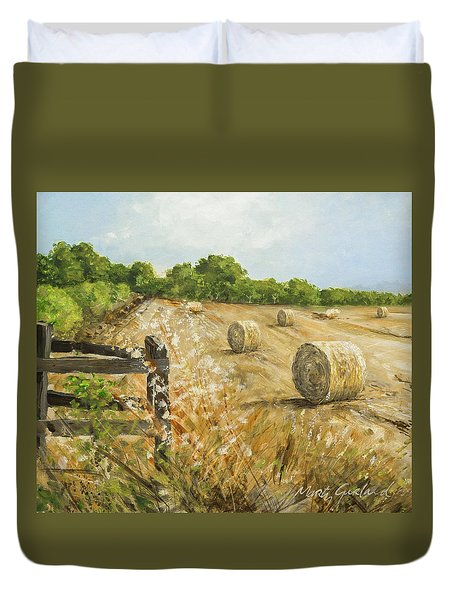 Fields Of Hay Duvet Cover