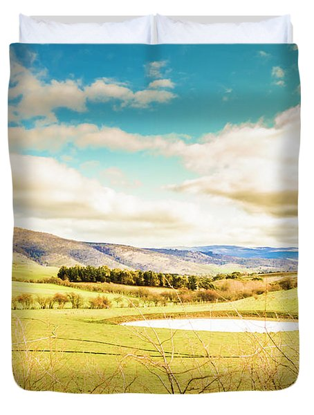Fields Of Plenty Duvet Cover