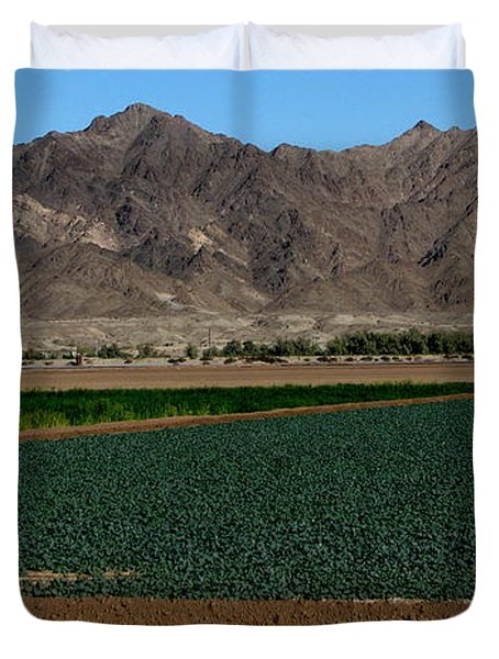 Fields Of Yuma Duvet Cover