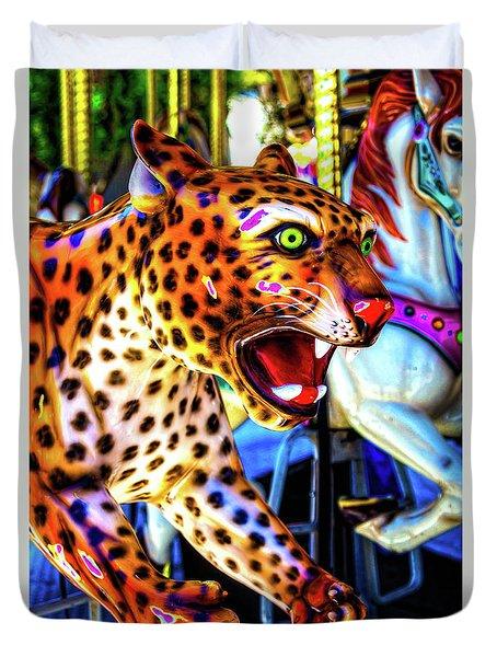 Fierce Cheetah Duvet Cover