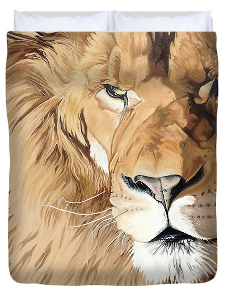 Fierce Protector Duvet Cover