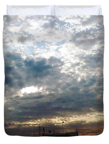 Fierce Skies Duvet Cover