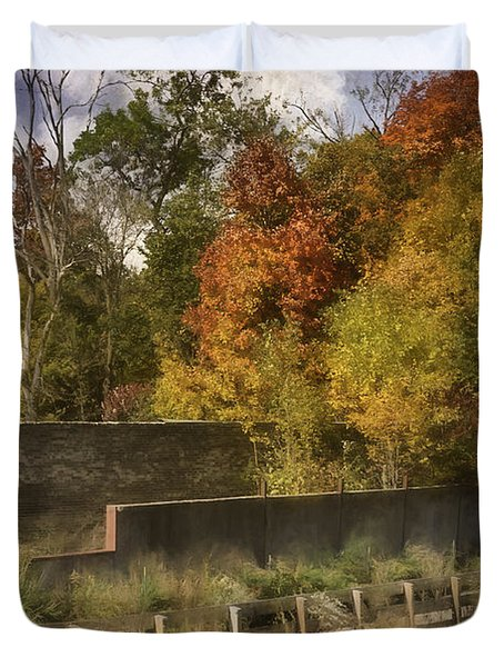 Fiery Autumn Duvet Cover