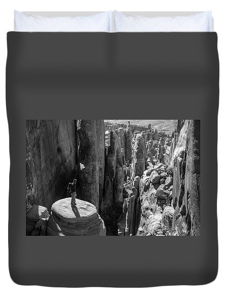 Fiery Furnace Duvet Cover