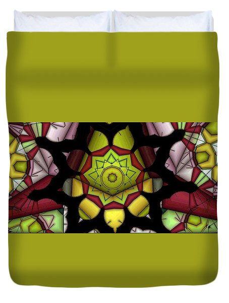 Fiesta Duvet Cover by Ron Bissett
