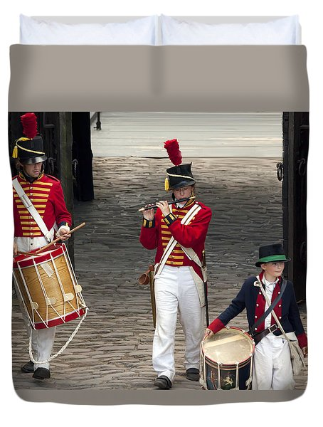 Fife And Drum Duvet Cover