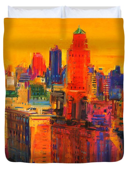 Fifth And Madison Duvet Cover