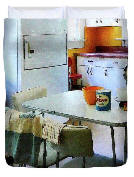 Fifties Kitchen Duvet Cover