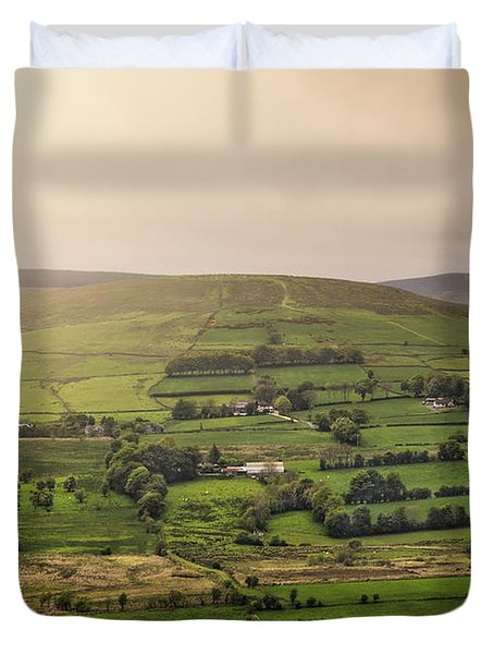 Fifty Shades Of Green Duvet Cover