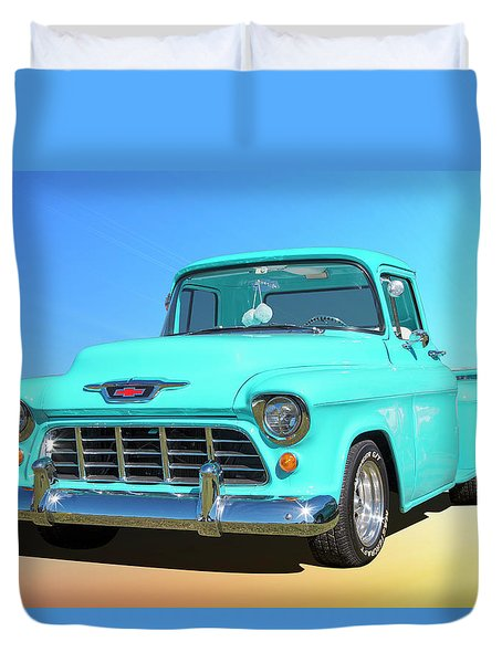 Fifty5 Stepside Pickup Duvet Cover
