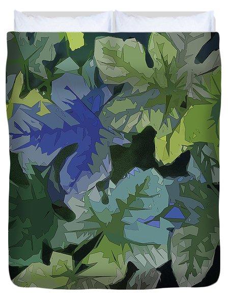 Fig Leaves Duvet Cover