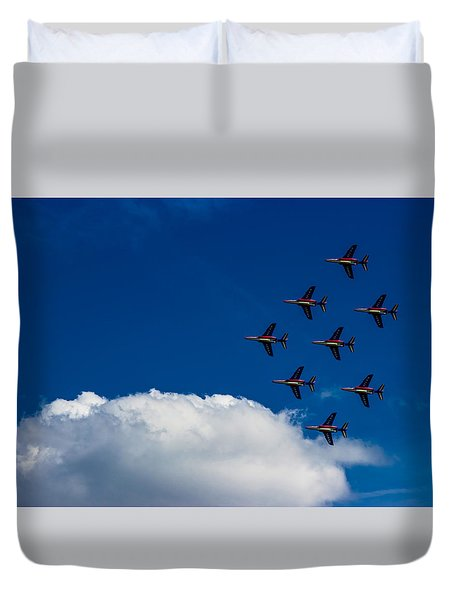 Fighter Jet Duvet Cover by Martin Newman