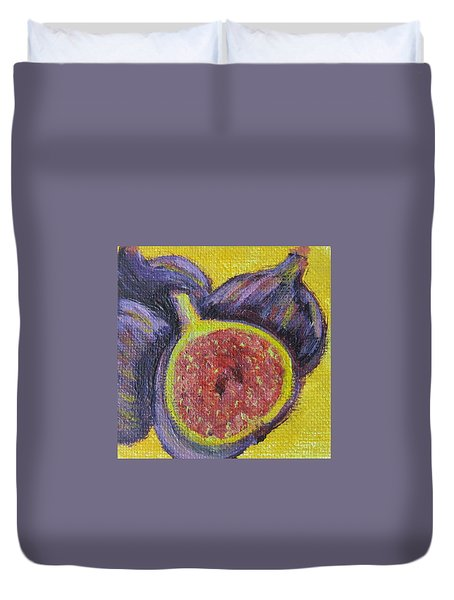 Four Figs  Duvet Cover