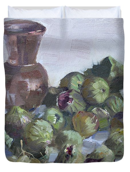Figs Duvet Cover