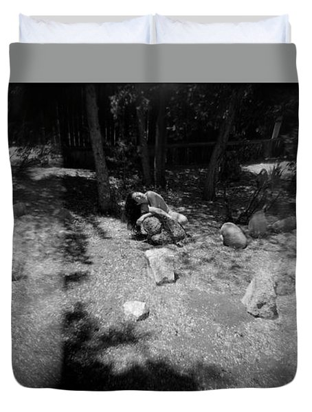 Figurative Holga 2 Duvet Cover
