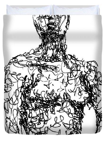 Figure Duvet Cover