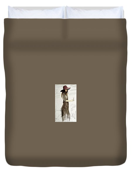 Figure Sketch.5. Duvet Cover by SJV Jeffery-Swailes