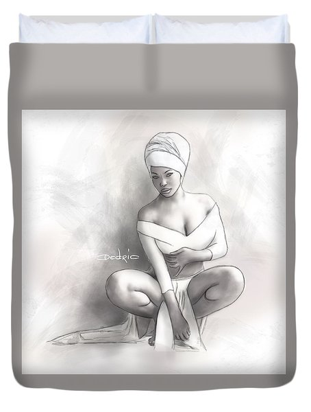 Figure Study 1 Duvet Cover