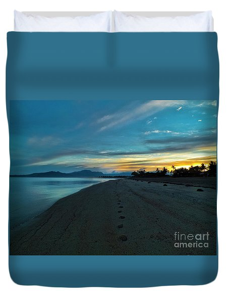 Fiji Dawn Duvet Cover