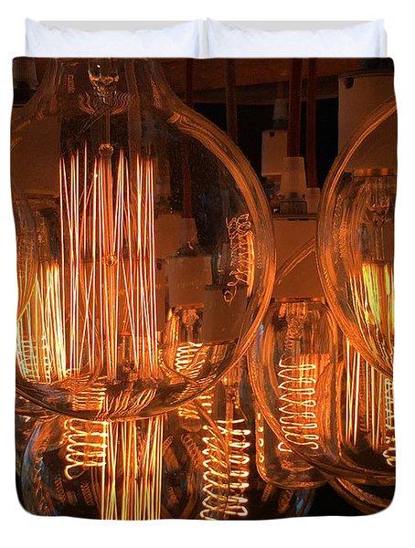 Filaments Duvet Cover