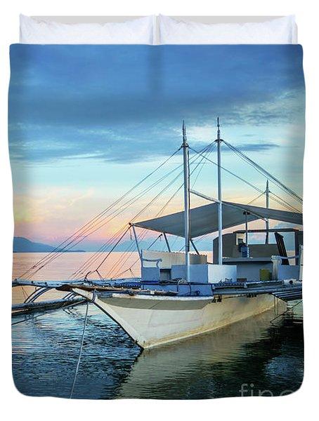 Filipino Sunset Duvet Cover