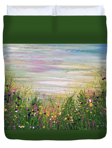 Fill Our Lives With Comfort And Our Hearts With Gladness Duvet Cover