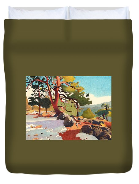 Fillius Ridge Duvet Cover