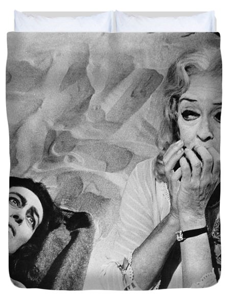Film: Baby Jane, 1962 Duvet Cover
